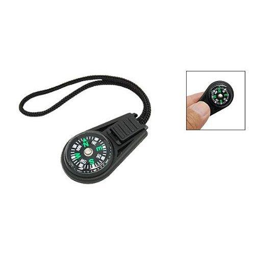 SODIAL(R) Mini boussole portable pour le voyage avec cordon