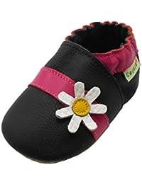Sayoyo Karikatur Lauflernschuhe Baby Leder Weiche Sohle Kugelsicherer Krippe Enfants Schuhe