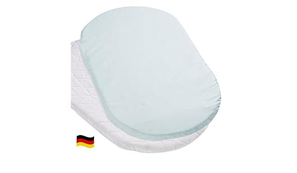 Bezug für ovale stubenwagen matratze: amazon.de: baby