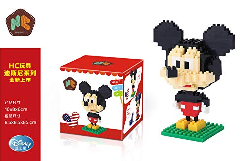 THTB Disney Micky Maus & Freunde Baustein-Set ca.10cm Micky Maus