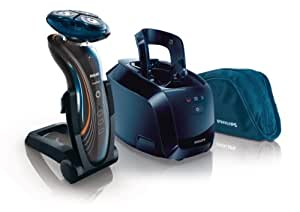 Philips Series 7000 RQ1185/22 SensoTouch 2D Rasoio Elettrico Wet & Dry, Lame DualPrecision, Testina GyroFlex 2D, Blu/Grigio