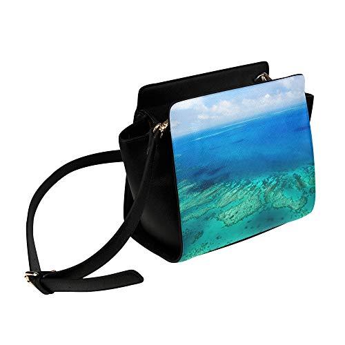 Rtosd Australien Great Barrier Reef Coral Umhängetasche Umhängetaschen Reisetaschen Seesack Umhängetaschen Gepäck Organizer Für Lady Girls Womens Work Shopping Outdoor -