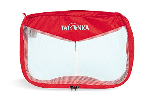 Tatonka Unisex Mesh Bag Netzbeutel Red