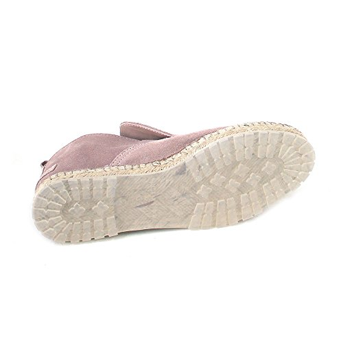 Shabbies Amsterdam Espadrille Loafer Suede/Soft Rose Rosa (suede/soft rose)