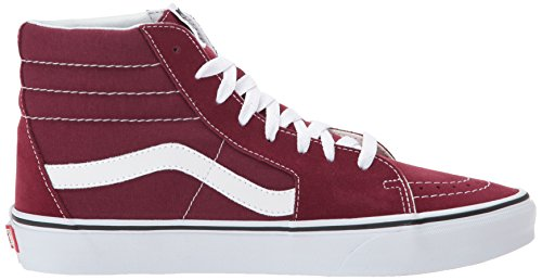 Vans Sk8-hi Suede / Canvas, Baskets Donna Rosso (bordeaux / True White)
