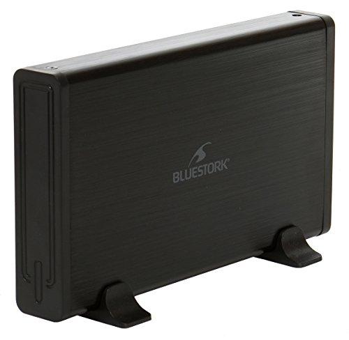Bluestork BS-EHD-35/SU30F Gehäuse für Festplatte schwarz