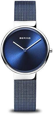 BERING Unisex Analogue Quartz Watch Stainless Steel