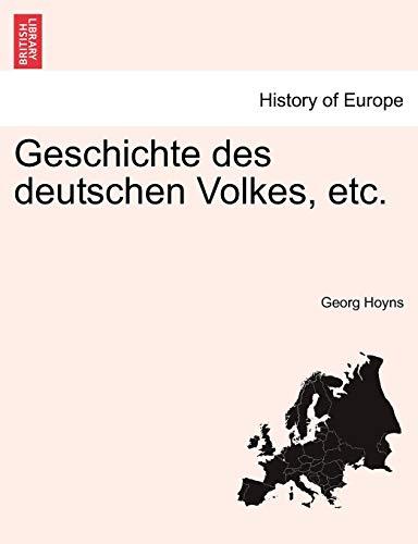 Geschichte des deutschen Volkes, etc