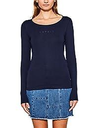 Esprit, T-Shirt à Manches Longues Femme