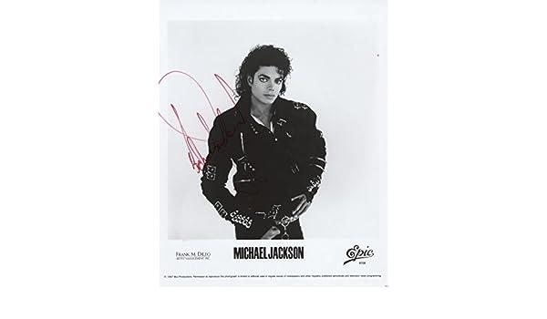 5d22780f155 Michael Jackson Genuine Hand Signed Autograph AFTAL UACC RD  Amazon.co.uk   Kitchen   Home