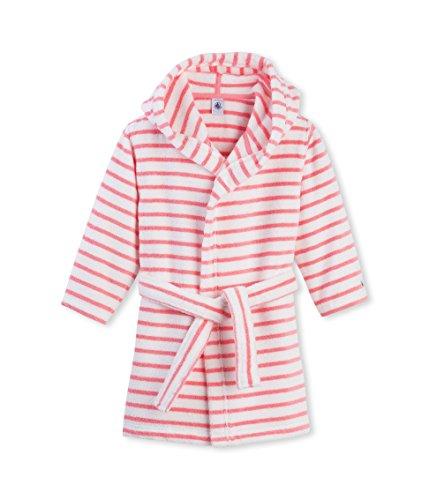Petit Bateau Mädchen T-Shirt Bademantel PEIGNOIR 16193, Gestreift, Gr. 110 (Herstellergröß Preisvergleich