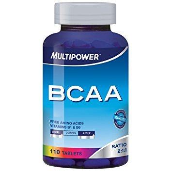Multipower Aminoacidi Ramificati Bcaa 110 Compresse