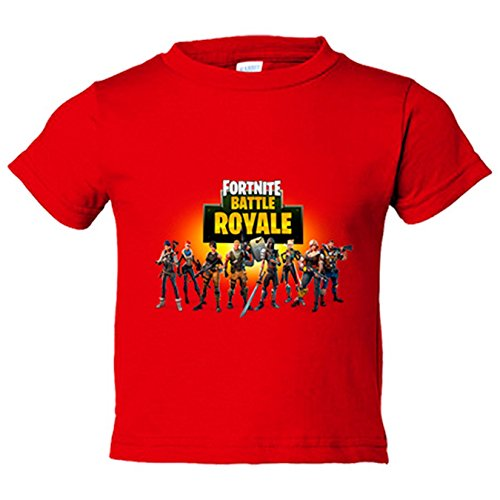 Camiseta niño Fortnite Battle Royale - Rojo, 12-14 años