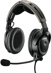 Bose A20 Aviation Headset (Battery-powered, NO Bluetooth, Electret mic, Straight cord, U174 plug)
