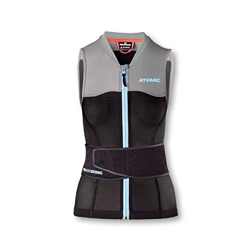 Atomic Damen Live Shield Vest W Ski-Protektor-Weste, schwarz/grau, S -