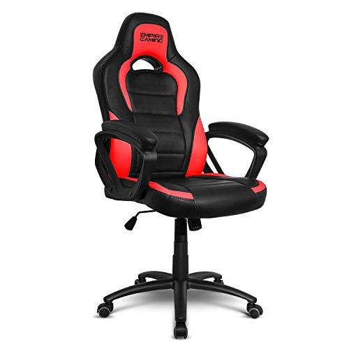 Empire Gaming – Fauteuil Gamer Racing 500 Series – Accoudoirs ultra-conforatbles et moelleux