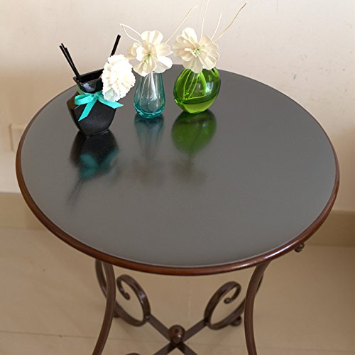 round-table-pvc-waterproof-transparent-circular-tablecloth-scrub-crystal-plate-soft-glass-table-film