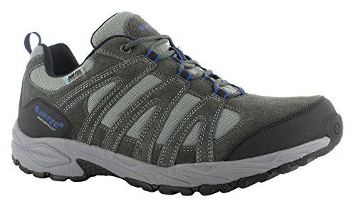 Hi-Tec Alto Ii Low Wp, Chaussures de randonnée homme Grey/Charcoal/Limoncello