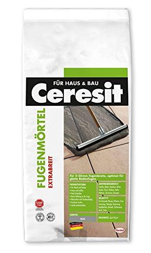 Ceresit Fugenmörtel Extrabreit, 2-20 mm, 5 kg, anthrazit, CB5AZ