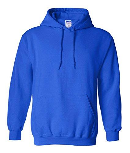 Smile YKK Herren Jungen Langärmelig T-Shirt Hoodies Sweatershirts Sweater Pullover Langarmshirt Sweat Heavy Mit Kapuze Blau