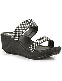 BRUNO Women's Fashion Sandals-7 UK EU (JF-1-Black_40)
