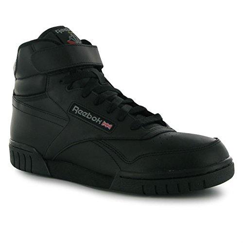 Reebok Herren Exofit Hi Top Turnschuhe/Schnürschuhe Casual Sportschuhe Schuhe, Schwarz - schwarz - Größe: 28 (Turnschuhe Schnürschuhe Reebok)