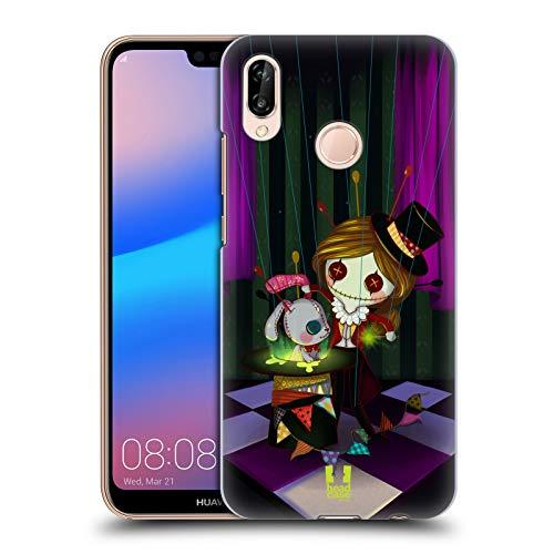 Head Case Designs Zauberer Voodoo Puppen 2 Ruckseite Hülle für Huawei P20 Lite