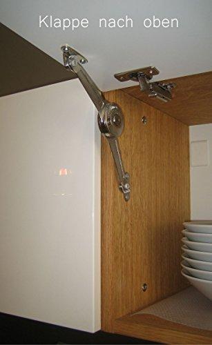 KITOON Grundmodul Nr. 8 (B 114 H 19 T 35 oder 48 cm) – Vertikal, Tür links, Tiefe 48 cm, Eiche geölt (Echtholzfurnier) - 5