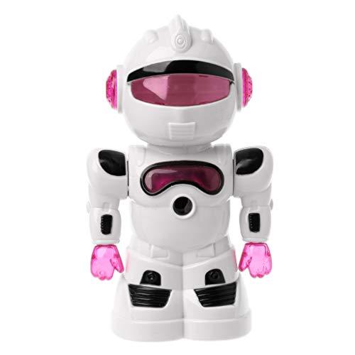 Exing Kreativer Anspitzer manuell mit Kurbel Cute Robot Anspitzer für Studenten, Zeichentricker, Studenten, Zeichentricker rot