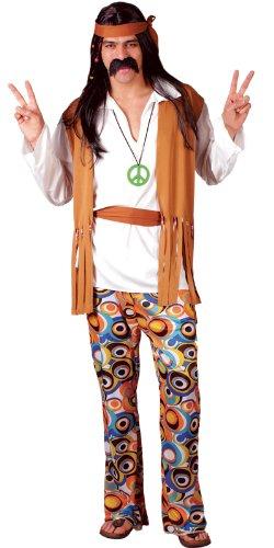 Imagen de hippie  disfraz de hippie adultos, talla l em 3035. l  alternativa