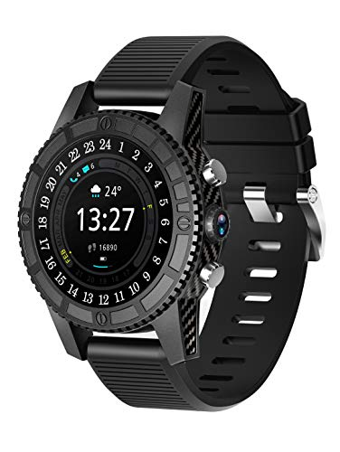 WETERS Fitness Tracker Activity Tracker Watch Heart Rate Monitor Waterproof 4G Card Call 1+16G Camera Sports Bracelet