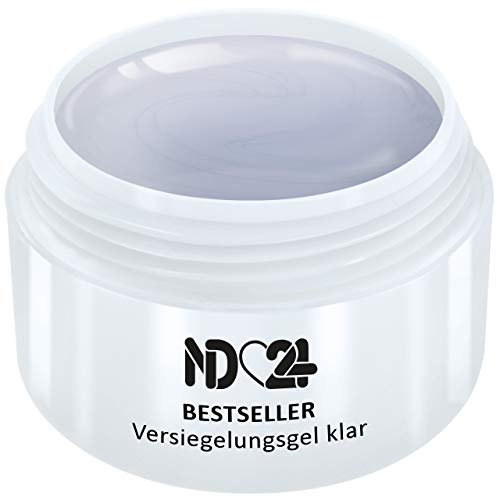 5ml - nd24 BESTSELLER - finish VERSIEGLER-GEL mittelviskos HIGH GLOSS - UV Nagelgel - Made in Germany - säurearm