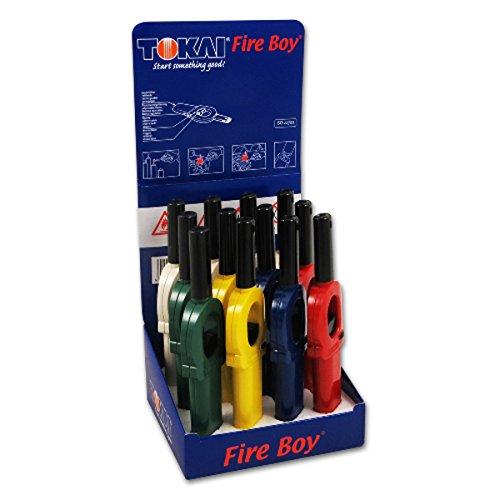 Stab-Feuerzeug TOKAI Fire Boy Piezo nachfüllbar, 12er-Box, Preis/Stück € 3,17