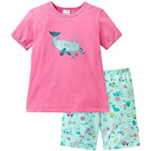 Schiesser Mädchen Zweiteiliger Schlafanzug Md Schlafanzug Kurz