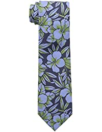 Tommy Bahama Men's Hibiscus Happening Tie, Green, One Size