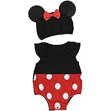 4637410c9a4ab CHICTRY Unisexe Enfants Flille Garçon Combinaison Ladybug Miraculous bébé  Romper Salopette Barboteuse Déguisement Cosplay Costume Pyjama