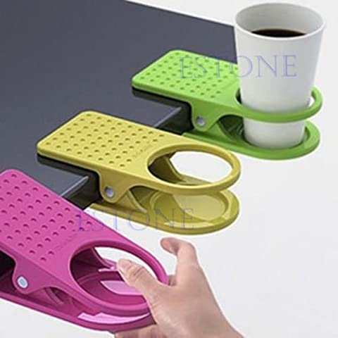 Fashion Cup Coffee Drink Holder Clip uso casa ufficio tavolo