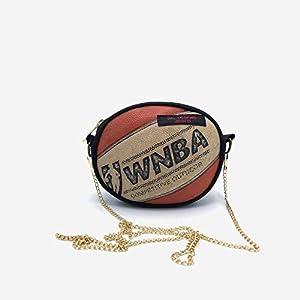 Handtasche aus Basketball sportlich Bum bag Bauchtasche Frau Teenager elegant Sportlerin Weihnachten Geschenk Geburtstag…