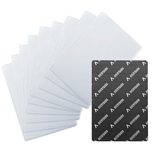 Foto-rahmen-set Liebe (Avery Scheune 10 pc Kühlschrank Magnet Klar Tasche Verschiedene Größe Foto Rahmen Set - Weiß, 4 x 6 Zoll 10,2 x 15,2cm)