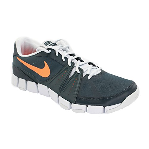 NIKE - NIKE FLEX SHOW TR 3 - 684701 - Chaussures de cross - Homme Multicolore Gris/orange Size 9 Multicolore - Gris/orange