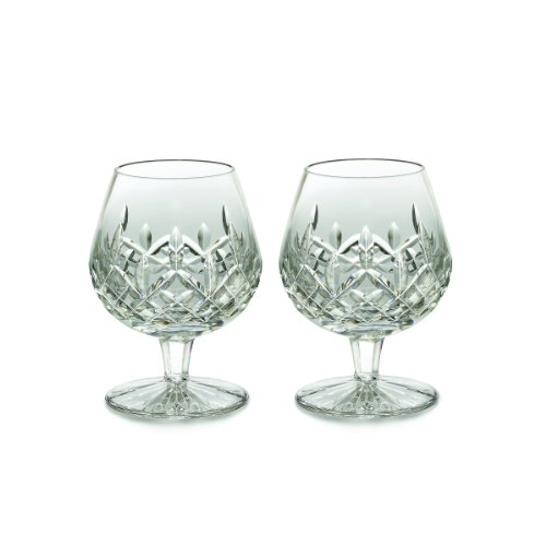Lismore Brandy (Waterford Lismore Brandy Balloon Boxed Pair, 12-Ounce by Waterford Crystal)