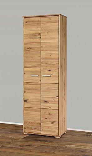 5137-23 – Schrank 63x193cm, wildeiche massiv