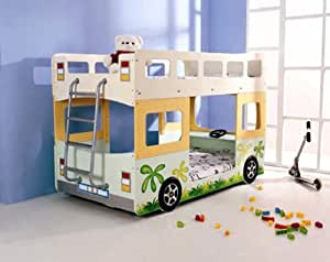 hochbett etagenbett fantasy bus k che haushalt. Black Bedroom Furniture Sets. Home Design Ideas
