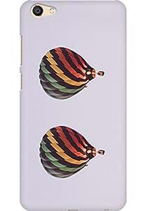 AMEZ designer printed 3d premium high quality back case cover for Vivo X7 Plus (Hot Air Balloons 2)