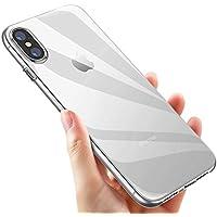 KKtick IPhone XS Hülle, Handyhülle iPhone XS TPU Silikon Plating Bumper Case Gel Hülle Ultra slim Case Cover Schutzhülle für iPhone XS - Transparent