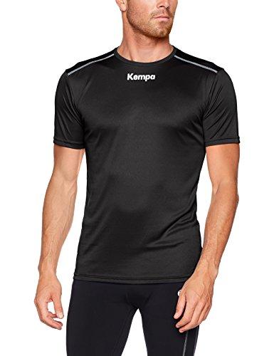 Kempa Poly Herren T-Shirt, schwarz, L