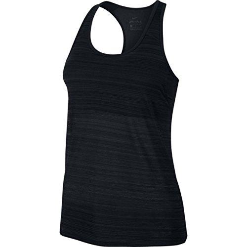 Nike-loose-training Top (Nike Damen Loose Support Tanktop, Black, M)