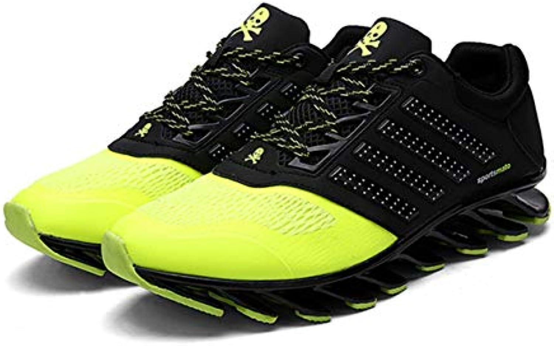 Blade Sole Transpirable Mesh Antideslizante Amortiguación Correr Jogging Calzado Deportivo Hombre Casual Zapatos
