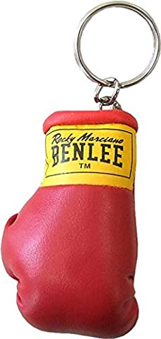 Benlee Rocky Marciano Miniature Keyring - Red, One Size