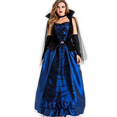 DUQA Halloween Erwachsene Cosplay Terrorist Vampire Earl Kleid Cosplay Kost¨¹m B¨¹hnenkost¨¹m Halloween - Machen Sie Ein Genie Kostüm